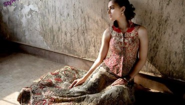 Traditional Bridal dresses for baraat 001 Style.pk