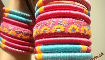 Trend-Of-Fashioning-Bangles-2011-6 style.pk