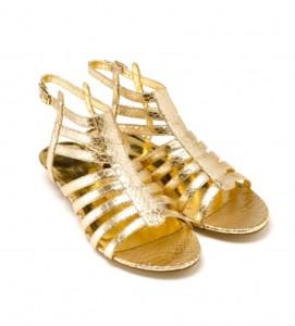 gold gladiator sandals 271x300