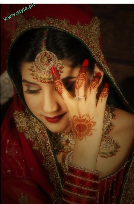 Best Bridal Makeups For Wedding 2 style.pk