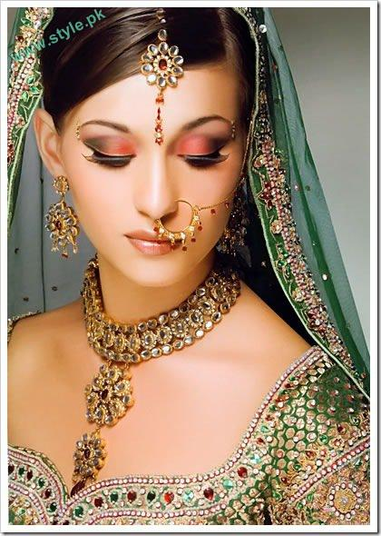 Best Bridal Makeups For Wedding 5 style.pk
