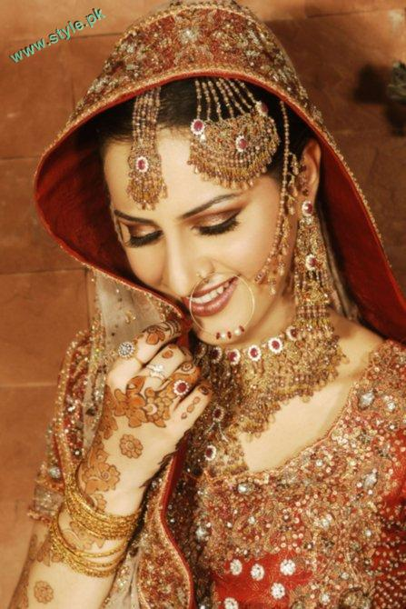 Best Bridal Makeups For Wedding 6 style.pk