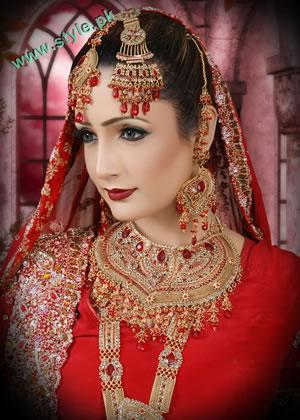 Best Bridal Makeups For Wedding 7 style.pk