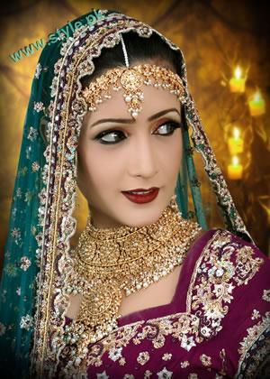 Best Bridal Makeups For Wedding 8 style.pk