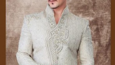 Latest-Off-White-Colour-Sherwani-For-Grooms-3 style.pk