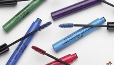 Latest-Trend-Of-Colored-Mascara-In-Makeup style.pk