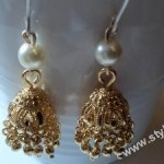 Traditional jhumkas for brides 2011