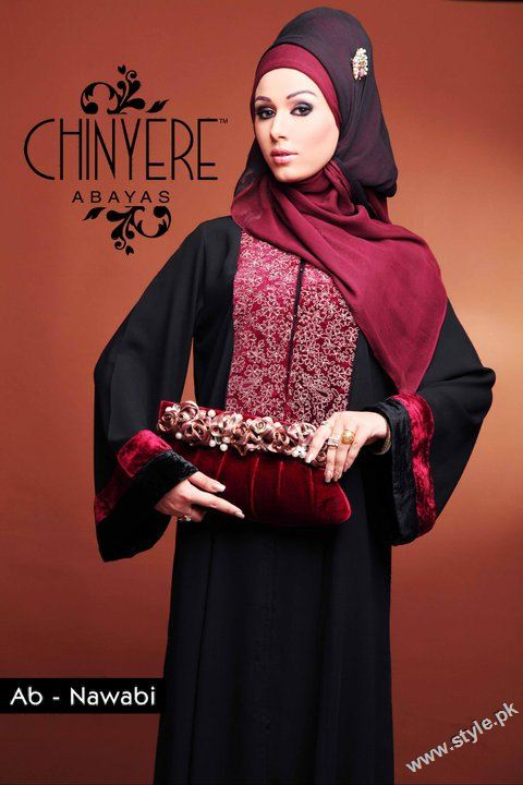 Beautiful Abaya Collection for Muslim Women by Chinyere style.pk 001