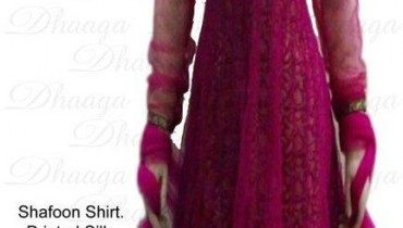 Formal and Semi-formal wear for Girls by Dhaaga style.pk 001