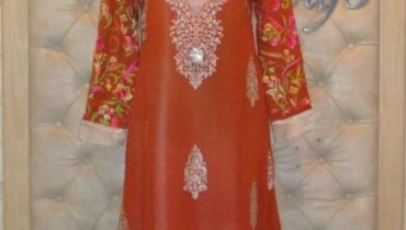 Latest Eid Collection 2011 By Threads & Motifs-6