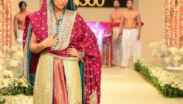 Pantene Bridal Couture Week 2011 - Top Designers Collection style.pk 001