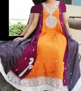 Girl's party wear dresses by Asianz Attire (5)