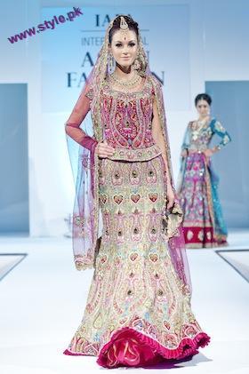 Latest Bridal Wears By Ekta Solanki At IAFA 2011-005