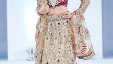 Latest Bridal Wears By Harkirans At IAFA 2011-005