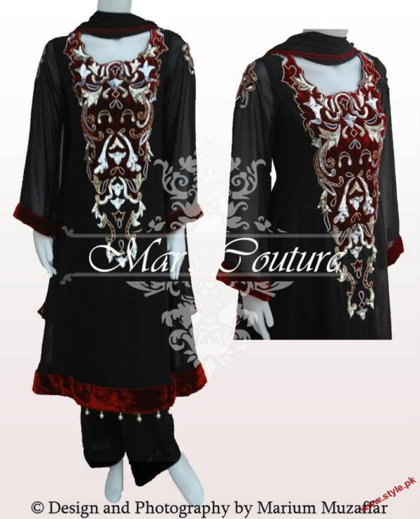 Latest Eid Collection By Mar's Couture-2011-005