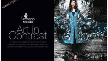 Latest Khaddar Collection For Winter By Five Star Textiles-002
