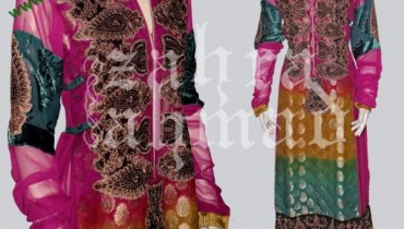 Latest Party Wears Collection For Women 2011 By Zahra Ahmed-002