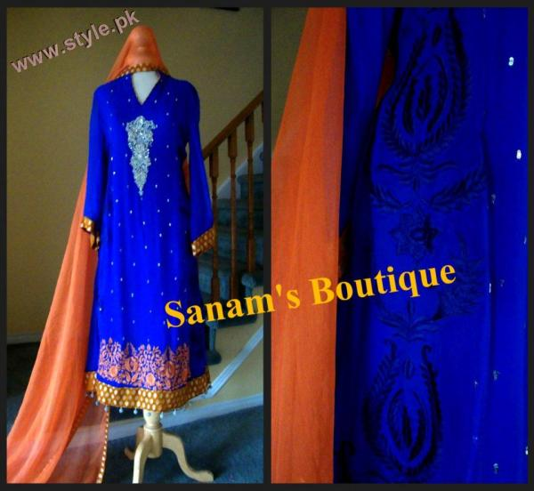 Latest Sanams Boutique Formal Wears 2012 003 for women local brands