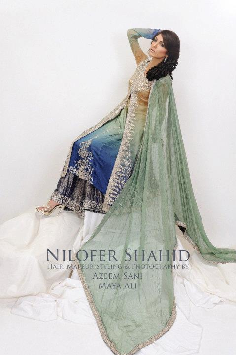 Nilofer Shahid Latest Bridal Collection 2011 2012 04