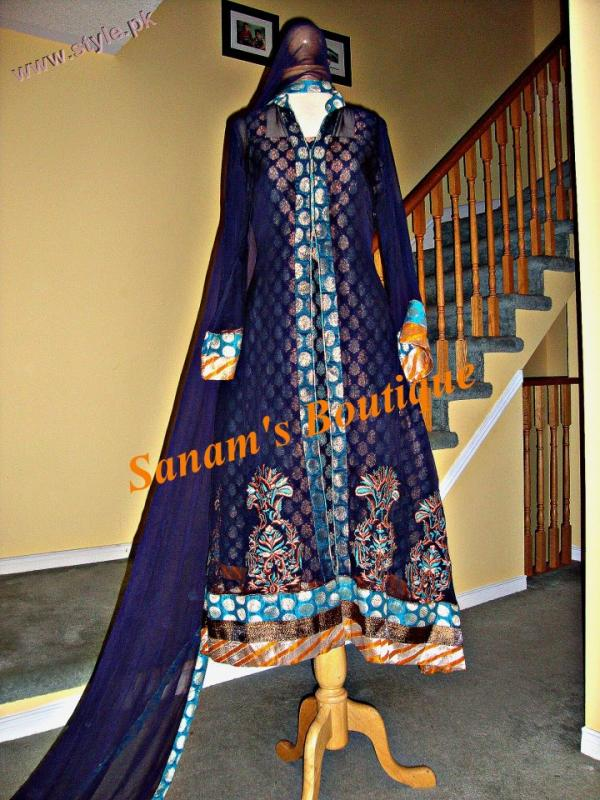 Sanams Boutique Latest Evening Wears 2011 12 006 for women local brands