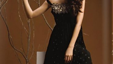 Waseem Noor Latest Collection of Black Dresses 2011-2012 01
