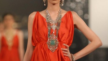 Damas Jewellery in PFDC L'Oreal Paris Bridal Week a