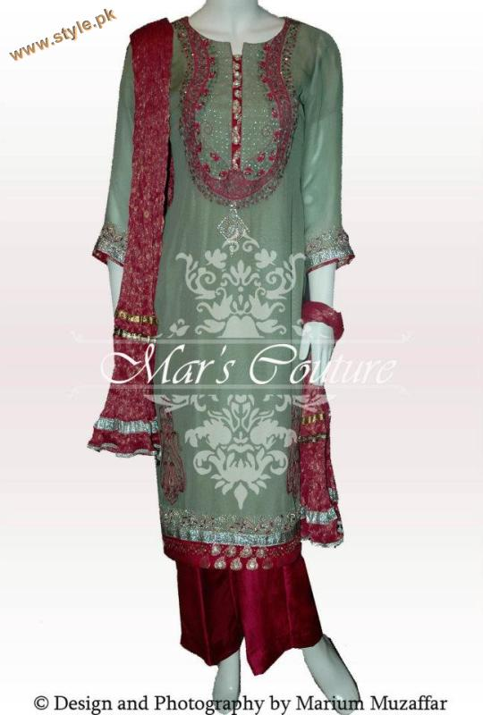 Latest Mar's Couture Exclusive Collection 2012-002