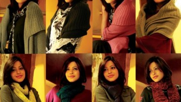 Latest Winter Shawls & Scarves Collection By Ego 2012-002