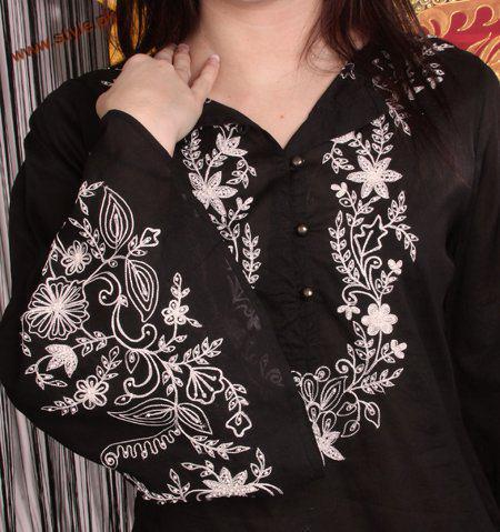 Saleha'z Boutique Winter Black Dresses 2012-005
