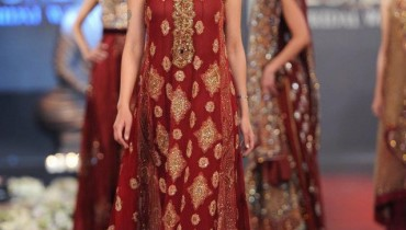 Sonia Azher Collection in PFDC L'Oreal Paris Bridal Week p