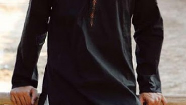 black kurta shalwar for men (12)