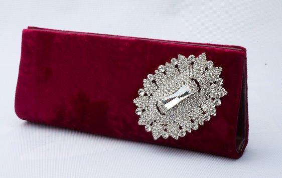 Metro Bridal Clutches - Microfiber Travel Bag