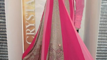 Crystallia Semi-Formal Wear Dresses For Year 2012-002