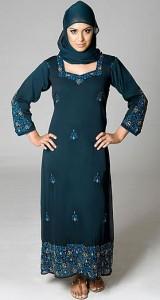 islamic dresses for girls by humna nadeem (6)