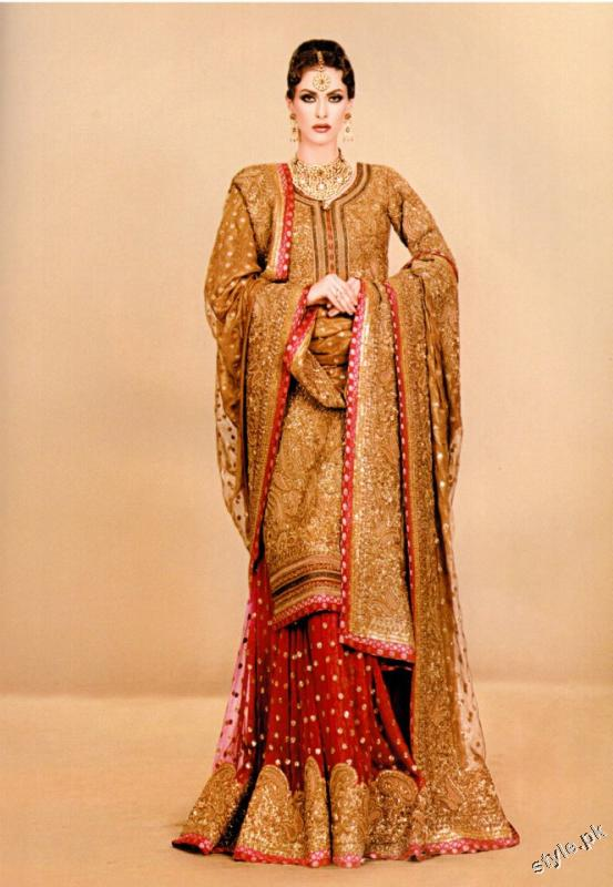 Latest fashion bridal dresses 2012 for women a