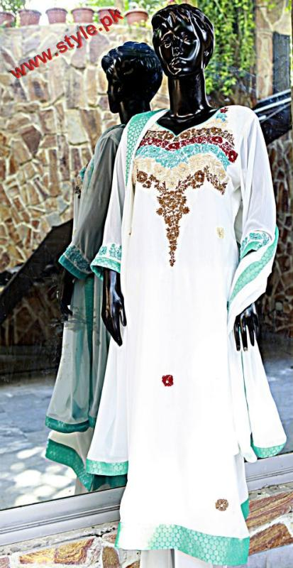 Latest Maru & Sam Evening Wear For Women 2012-005
