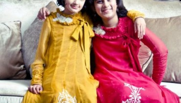 Latest Party Wear For Kids By Afia & Amra 2012-004
