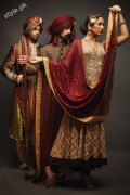 Latest fashion Walima dresses 2012 in Pakistan 14