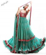 Latest fashion Walima dresses 2012 in Pakistan 17