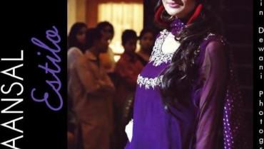 Maansal Estilo Semi-Formal Wear For Women 2012-002