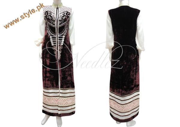 Needlez By Shalimar Latest Winter Dresses 2012-006