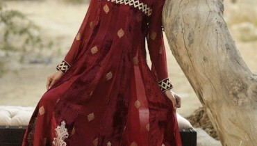 Threads and Motifs Latest Formal Dresses 2012 1