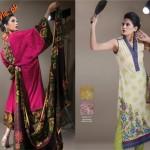 Al-Karam Latest Lawn Dresses For Women 2012-005
