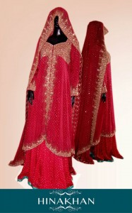 latest bridal collection 2012 by hina khan (4)
