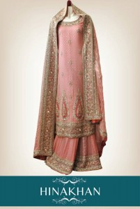 latest bridal collection 2012 by hina khan (3)