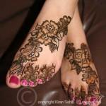 Latest Fashion Mehndi Designs For Women 2012 16