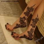 Latest Fashion Mehndi Designs For Women 2012 6