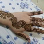 Latest Fashion Mehndi Designs For Women 2012 9