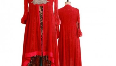 Latest Red Dresses By Nickie Nina For Valentine Day 2012-005