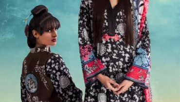 Maria B Lawn Summer Collection 2012 1